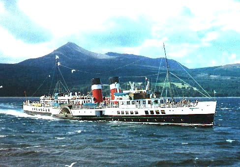 Waverley sea going paddle steamer