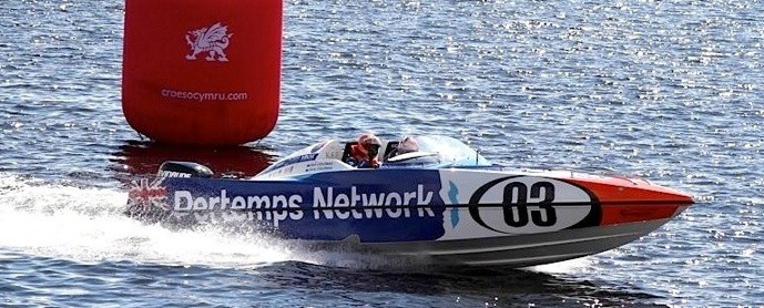 P1 powerboat Pertemps Network Cardiff 2016