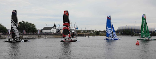 Cardiff Bay Extreme Sailing some sample photographs Aug 2014