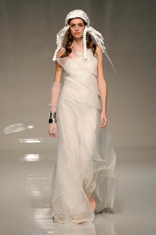 Corallia design style name by Victoria kyriakides 2013 Bridal fashion