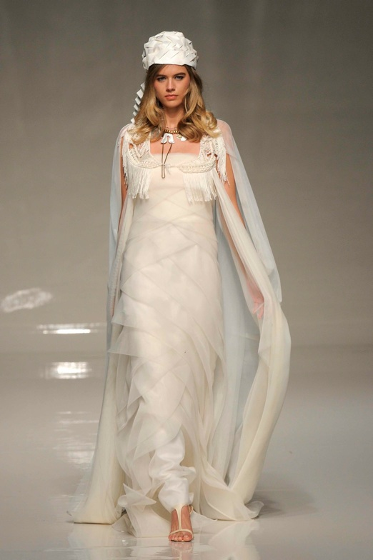 Amphitrite design style name by Victoria kyriakides 2013 Bridal fashion